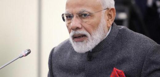 Narendra Modi announces setting up of Ram Temple trust in Lok Sabha.