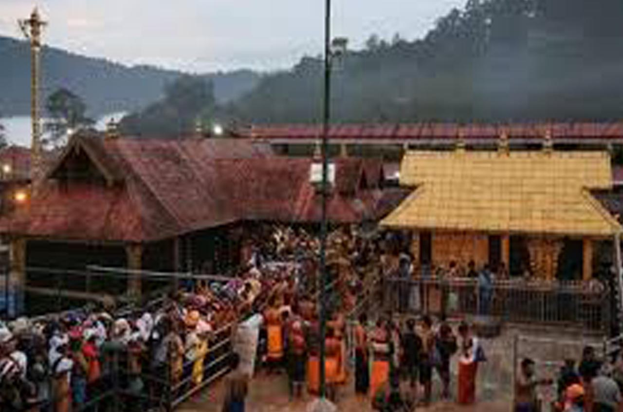 Two women activist enter Sabarimala shrine. The political agenda bring in an ambulance.