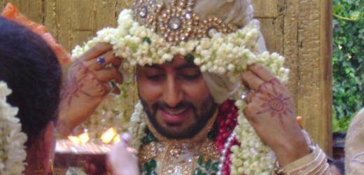 Aishwarya and abhishek wedding photos.