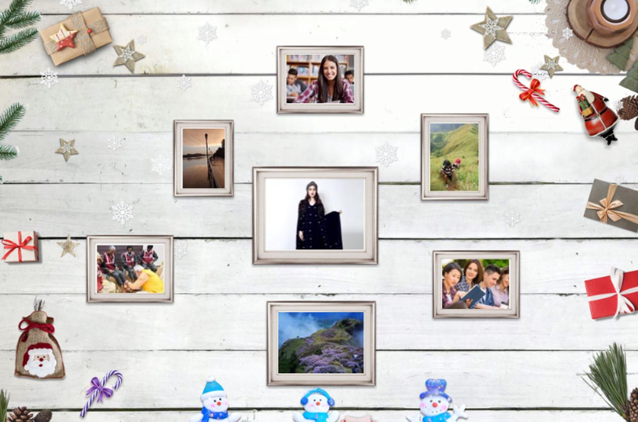 Photo collage maker is a surprising tool to make beautiful designs.