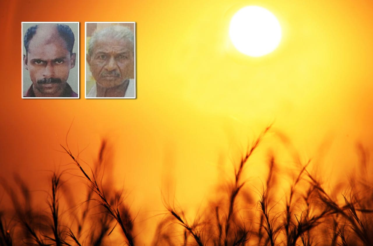 Sunburn, two people died in Kerala