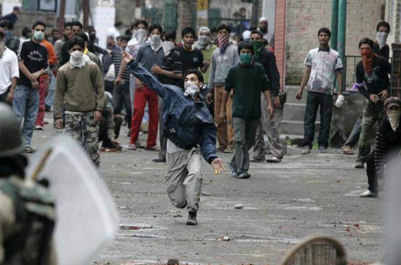 Kashmir issue is a political party agenda?