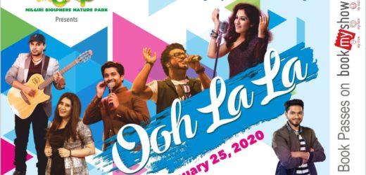Ooh La La – Mega music show in Coimbatore.