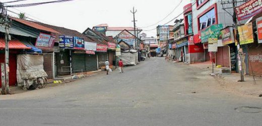 Kerala hartal live updates: Protest marches taken out to various district police headquarters.