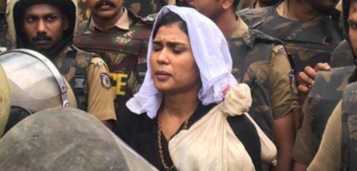 2300 police to enter women activists at Sabarimala.