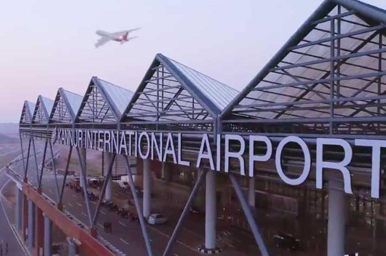 Kannur international airport inaugurated today.