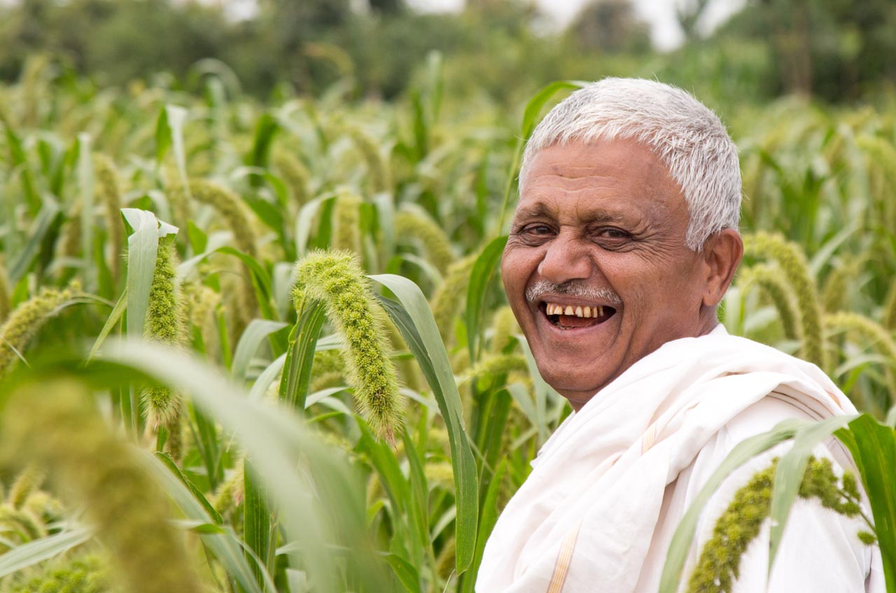 PM-KISAN scheme made smile on famers face.