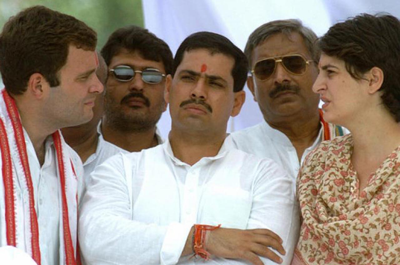 Robert Vadra was dealing with a close relative of arms dealer for his London properties.