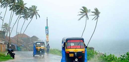 Kerala to get extremely heavy rainfall.