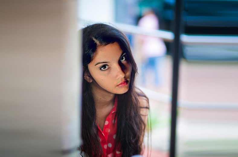 Model Shanaya Abigail