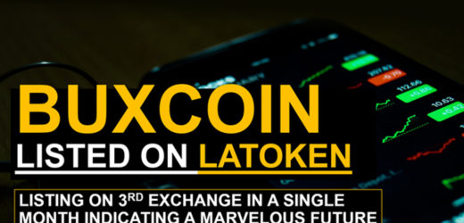 Buxcoin Listed On Latoken Exchange: Indication For A Marvelous Future.