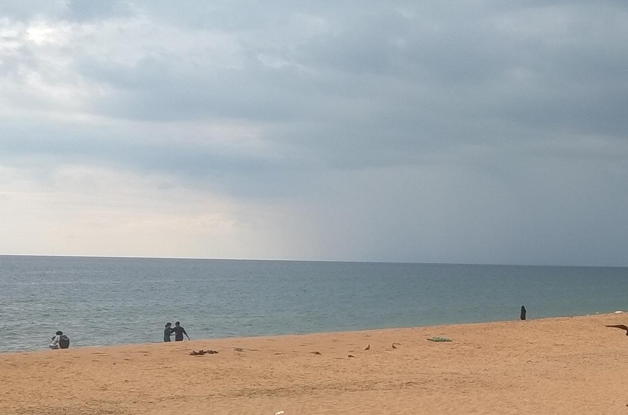 Shankumugham Beach, Thiruvananthpuram.