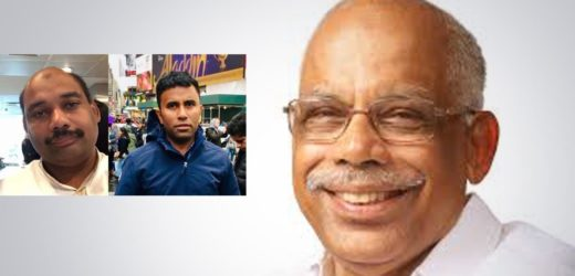 Kerala left MLA's son and son-in-law held in Saudi for alleged money laundering.