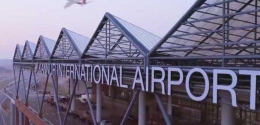 Kannur international airport inaugurated today.