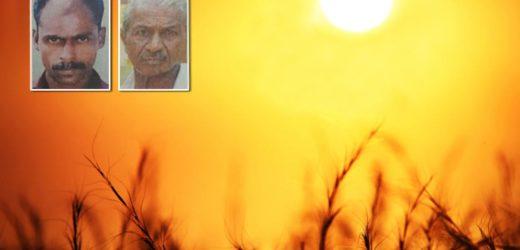 Sunburn, two people died in Kerala
