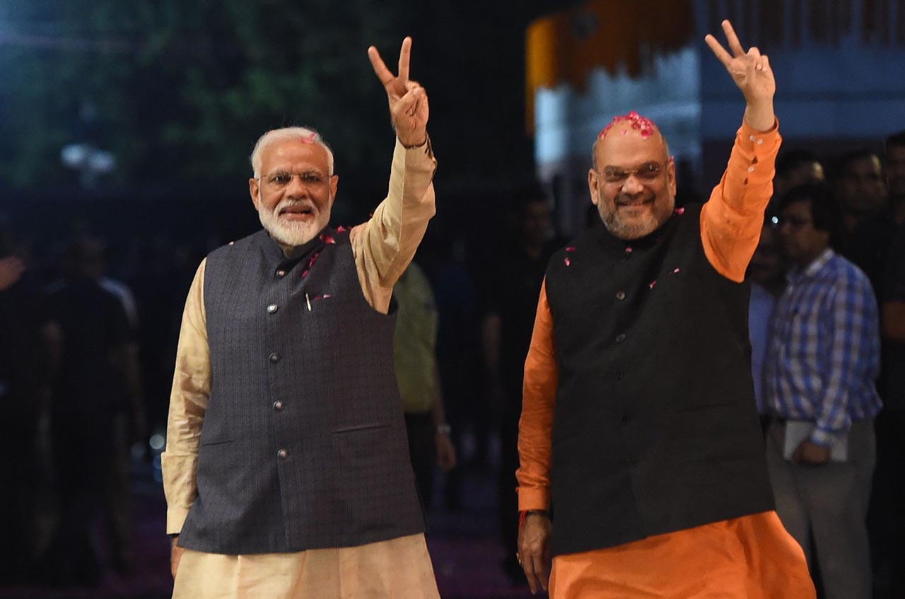 Before completing 100 days IInd Modi government has proved the power in Kashmir.