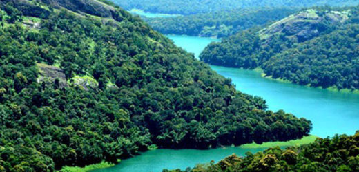 Green surrounded hill stations in Kerala